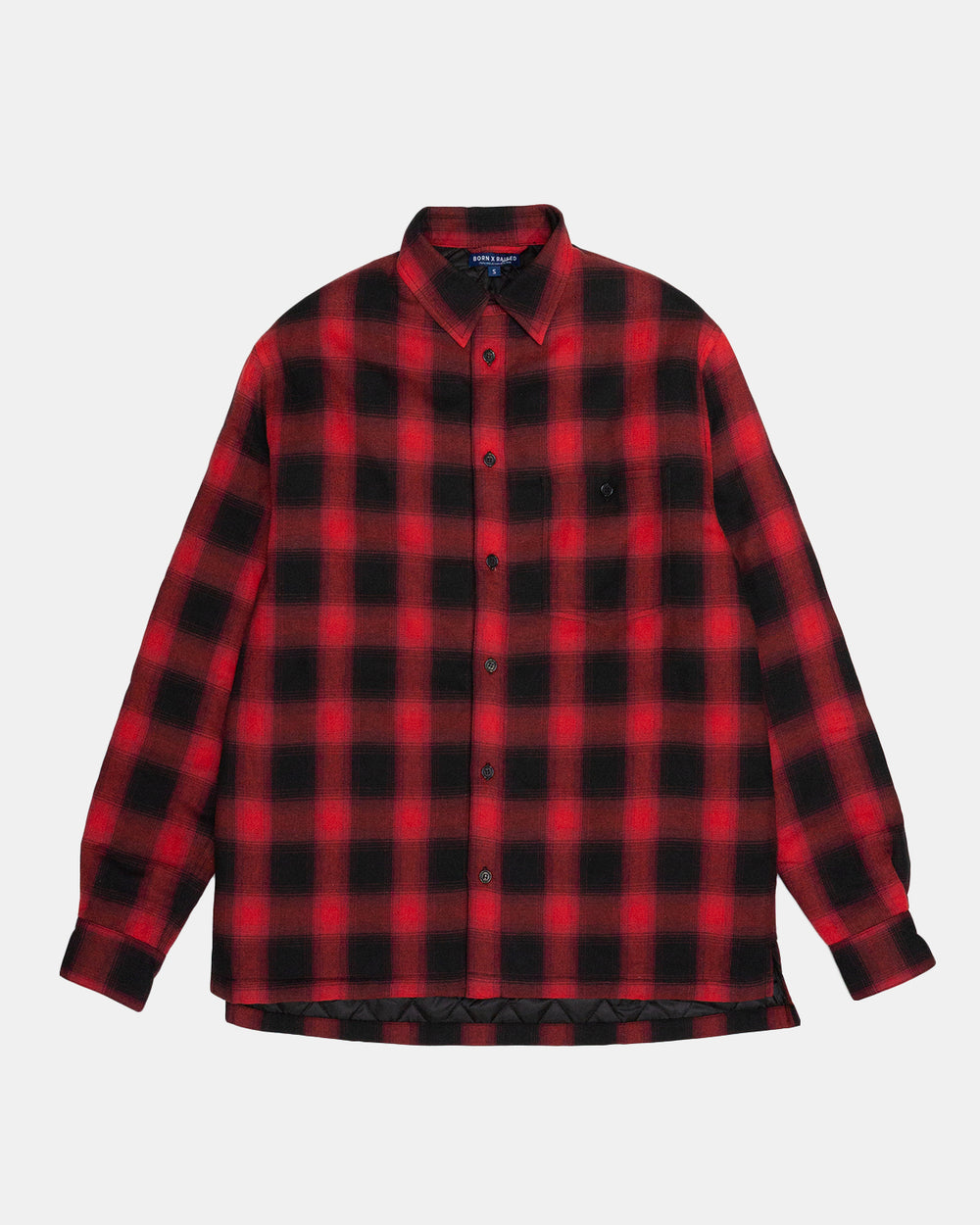 Born x Raised - Beowulf Shirt Jacket (Red)