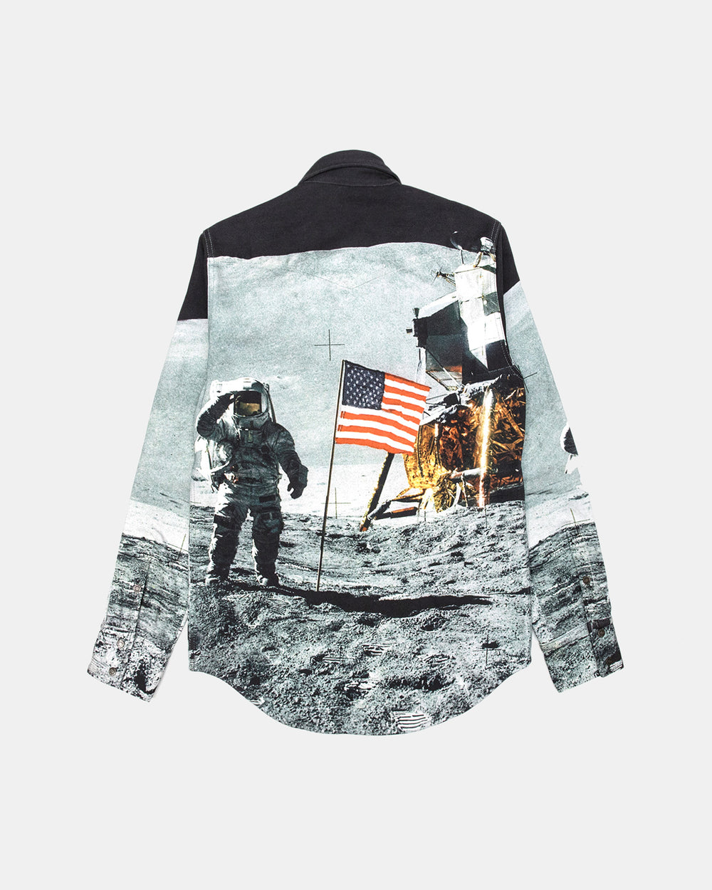 Calvin Klein - Moon Landings Western Shirt Jacket (Moon Flag)