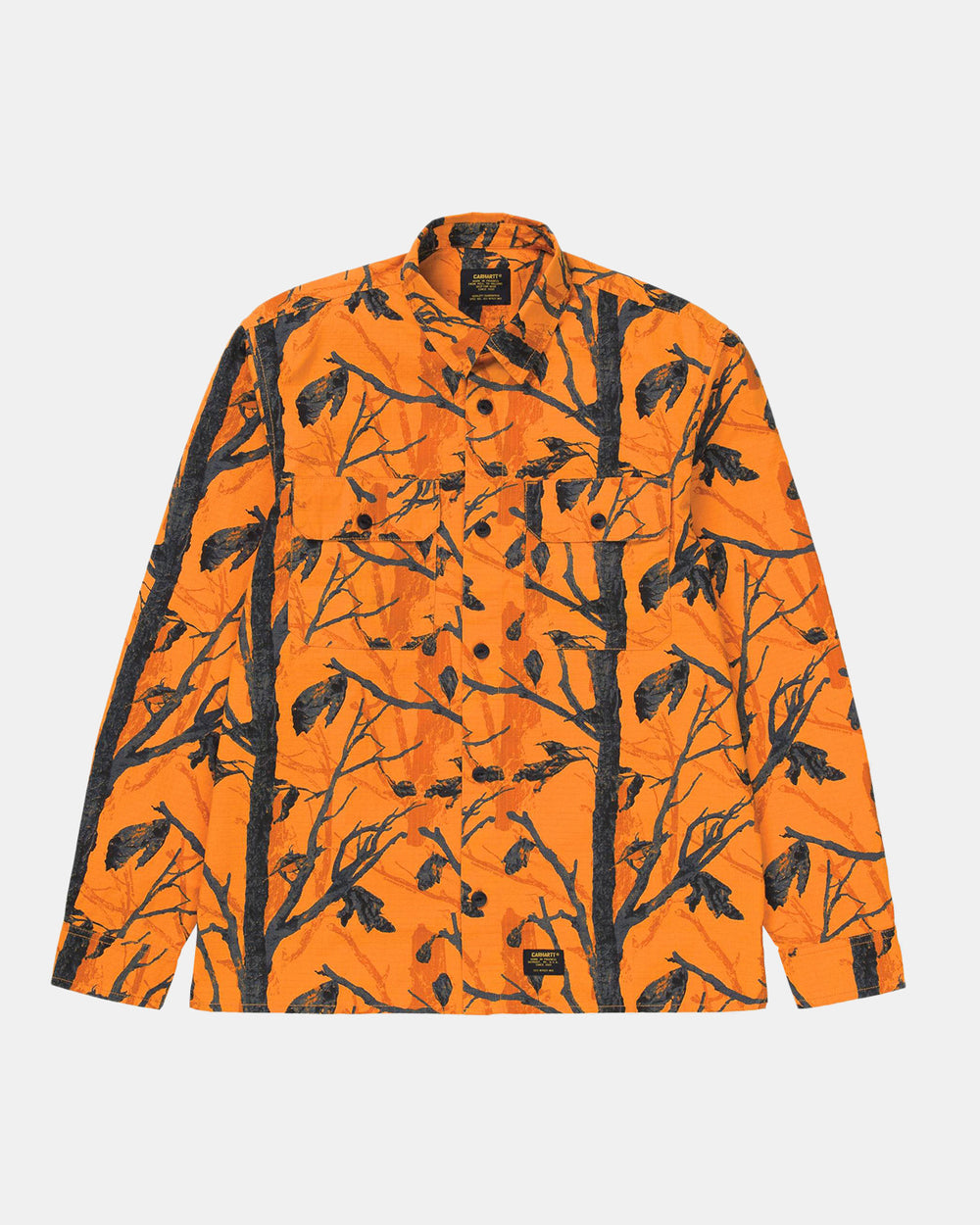 Carhartt WIP - Mission Shirt (Orange Tree Camo)