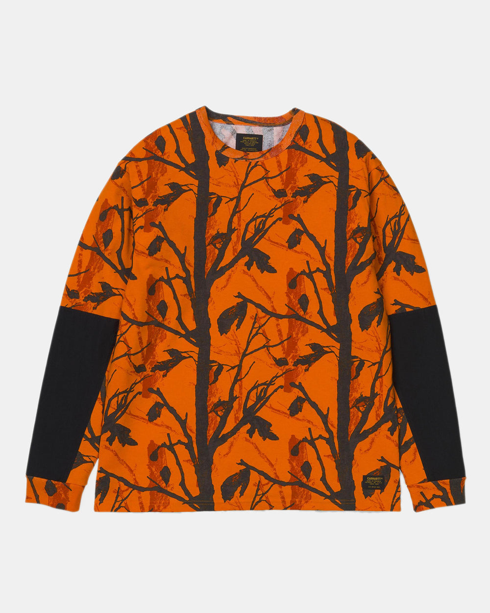 Carhartt WIP - Klicks Long Sleeve Tee (Orange Tree Camo)
