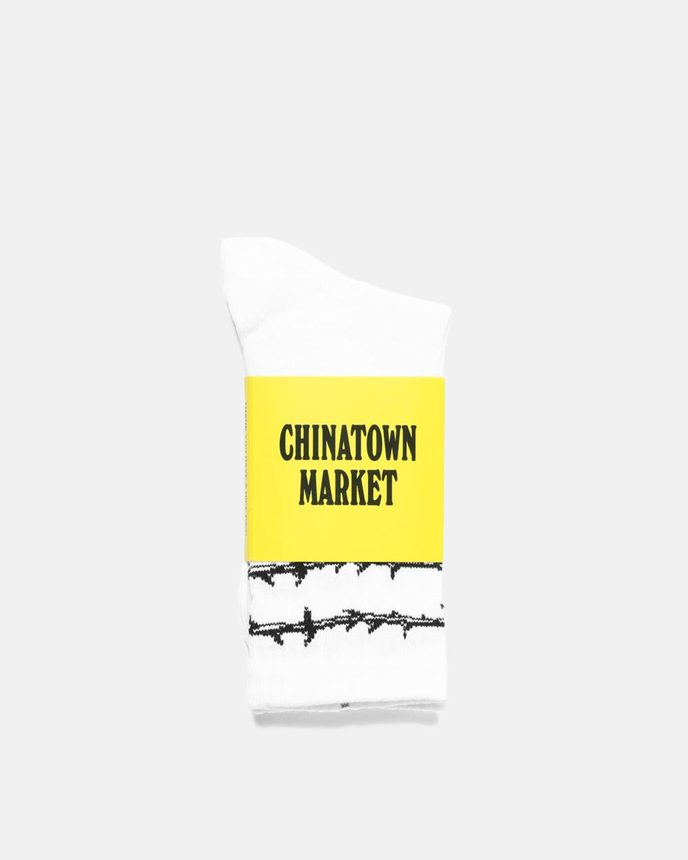 Chinatown Market - Thorn Socks (White)