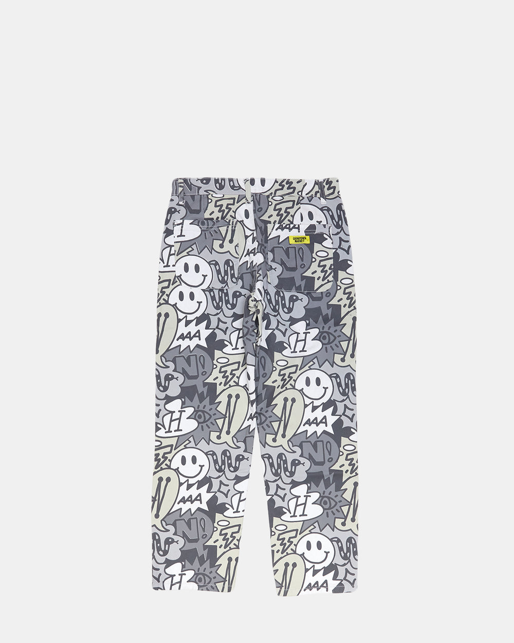 Chinatown Market - Speech Bubble Denim Pants (Grey)