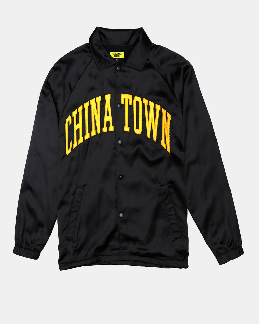 Chinatown Market - Satin Coach Jacket (Black)