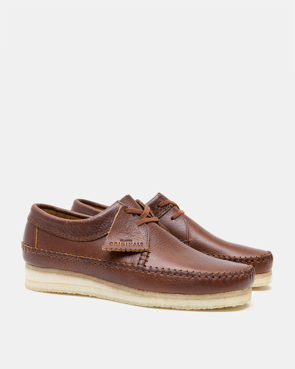 Clarks - Weaver (Tan Leather)
