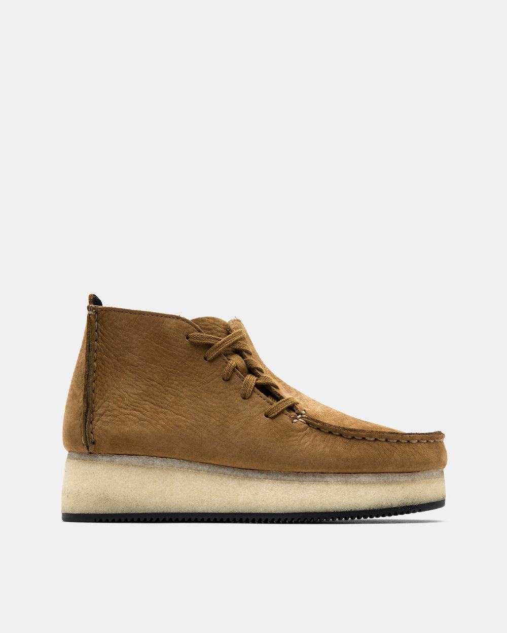 Clarks - Lugger Wedge (Dark Ochre Nubuck)