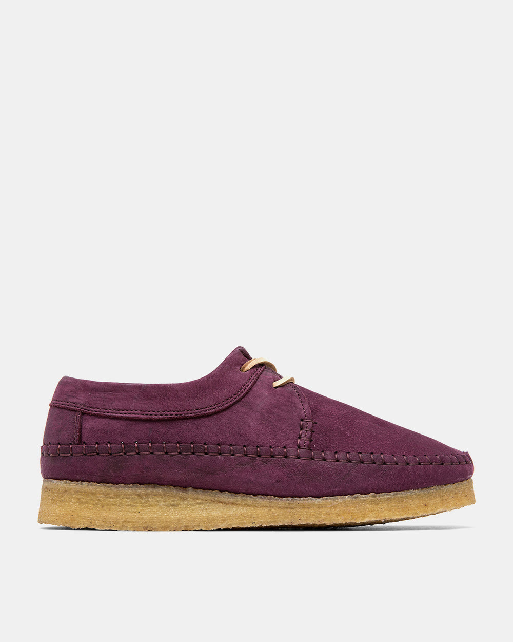 Clarks - Weaver (Purple Grape Nubuck)