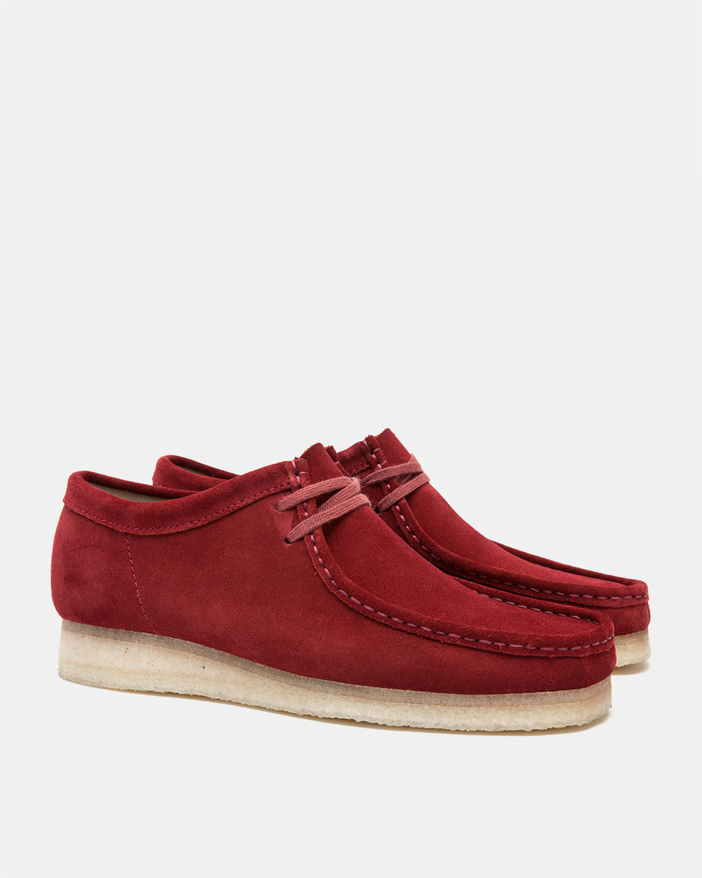 Clarks - Wallabee (Red Suede)