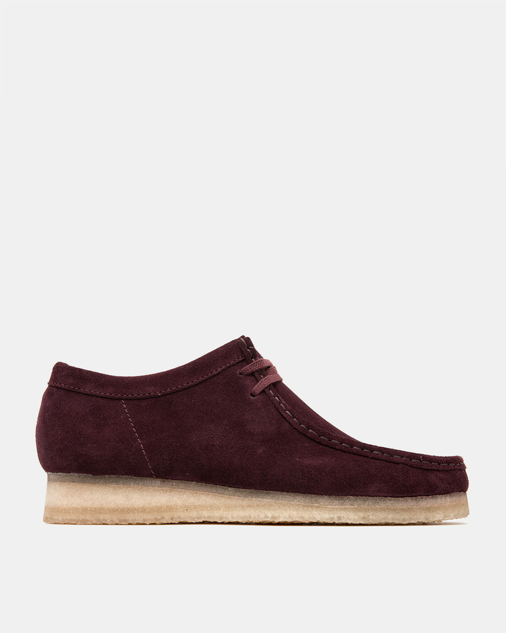 Clarks - Wallabee (Burgundy Suede)