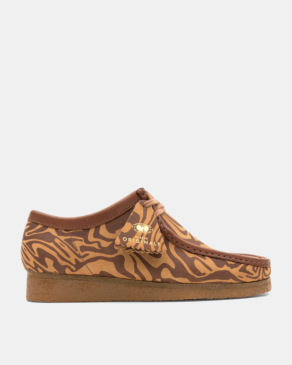 Clarks - Wallabee WW Lo (Brown | Marble)