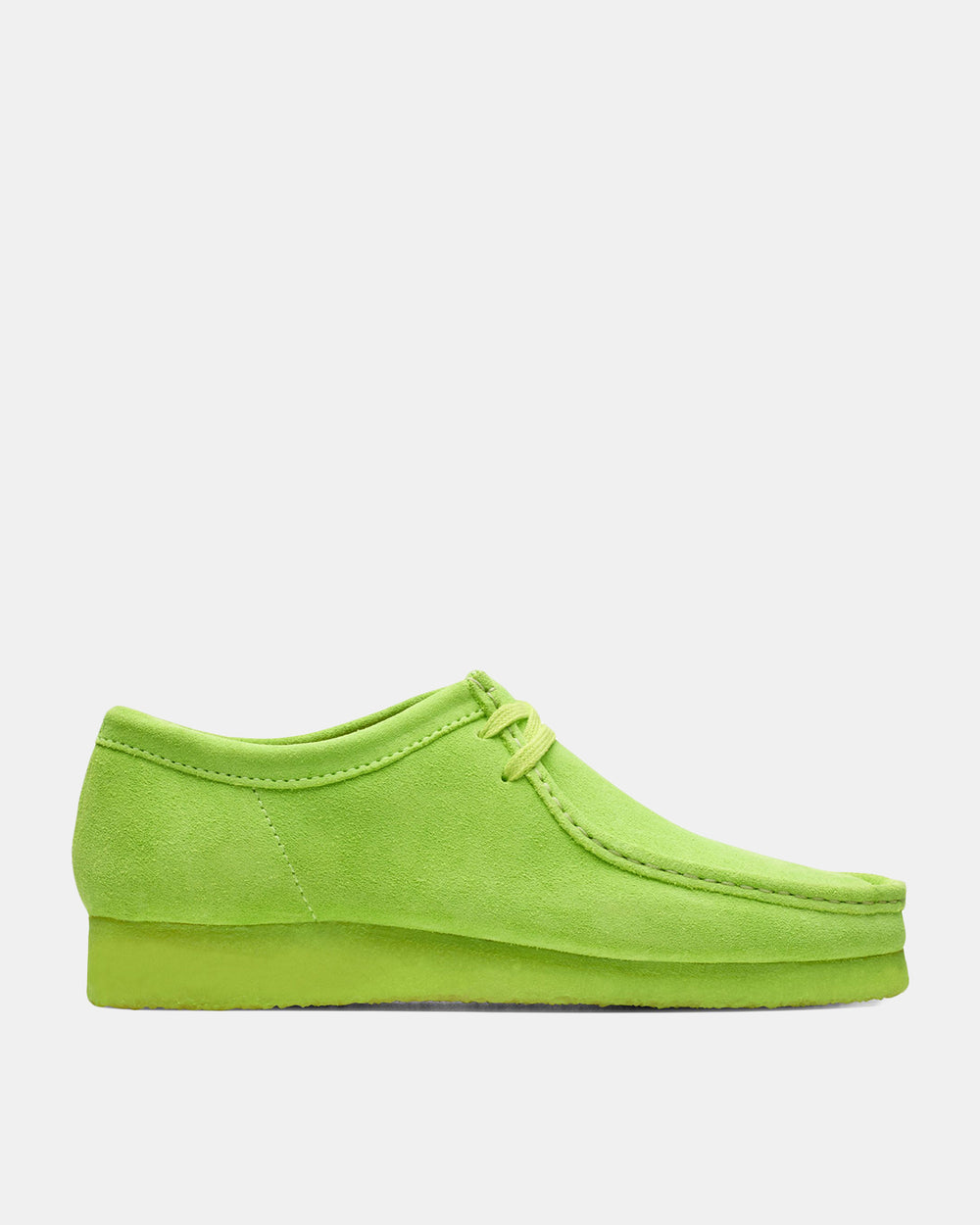 Clarks - Wallabee Boot (Lime Suede)