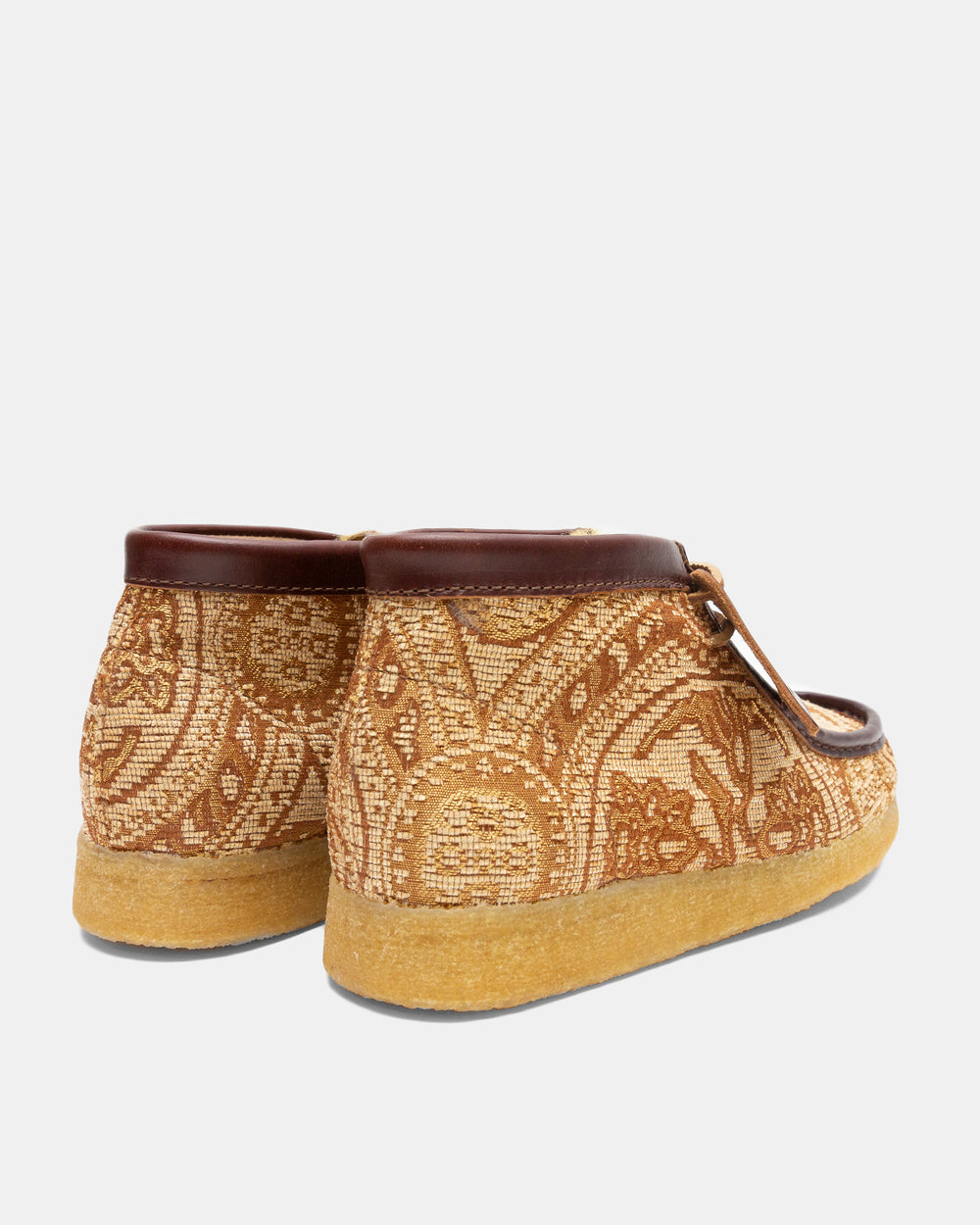 Clarks - Clarks x Todd Snyder Wallabee Boot (Brown Paisley)