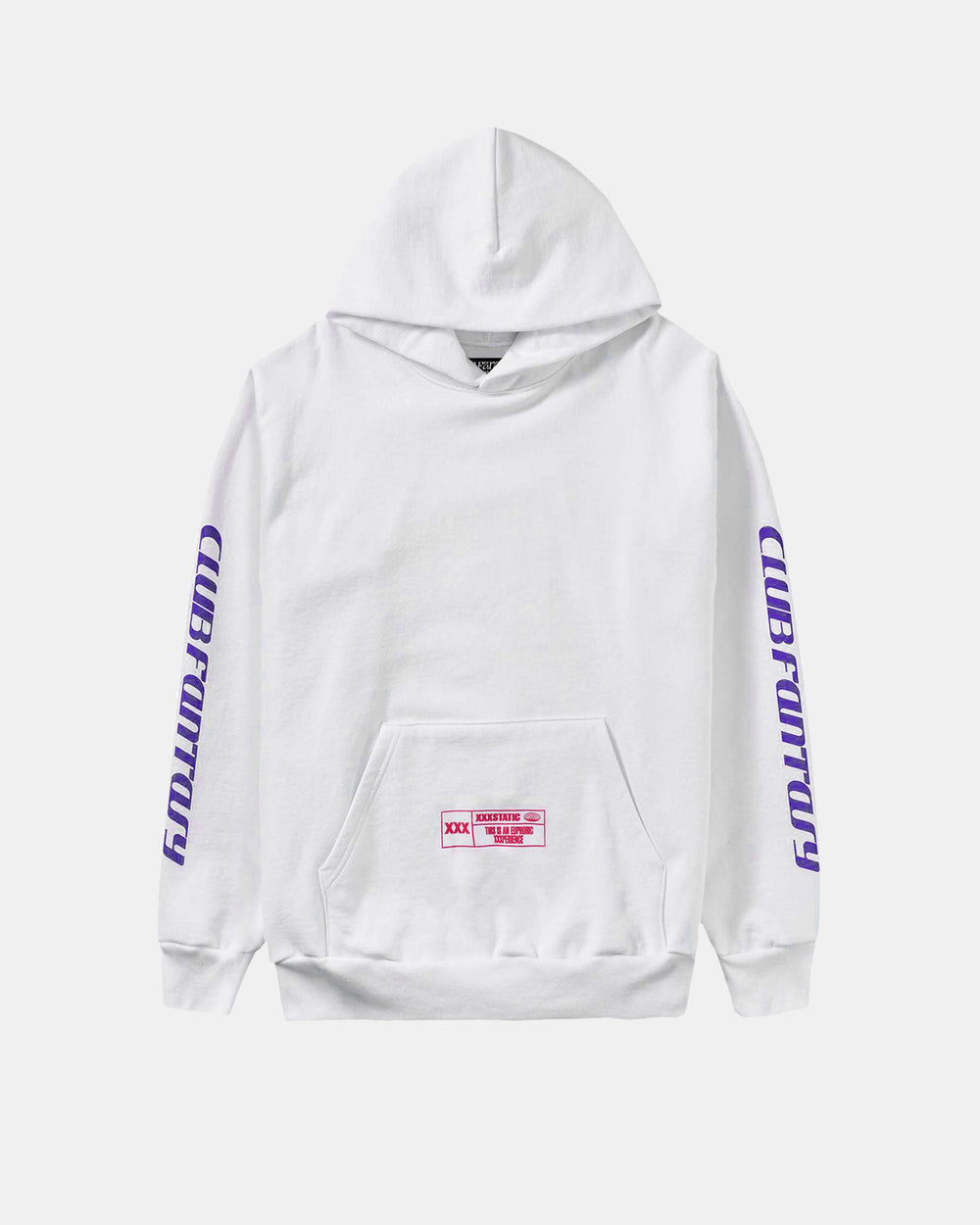 Club Fantasy - Endless Euphoria Hoodie (White)