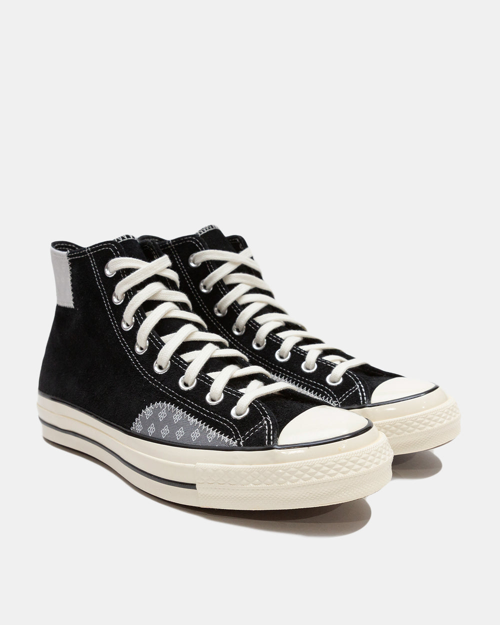 Converse - Twisted Prep Chuck 70 Hi (Black | Mouse | Egret)