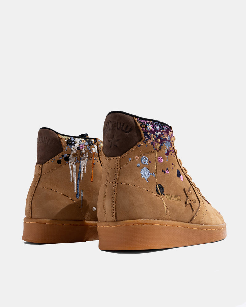 Bandulu Pro Leather Mid (Flux | Gum | Light Honey)