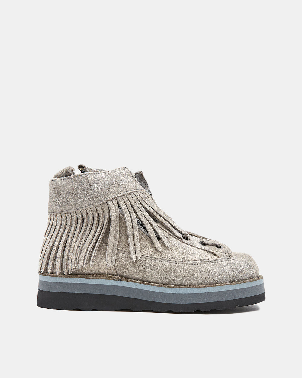 White Mountaineering - White Mountaineering x Danner Suede Boots (Light Grey)