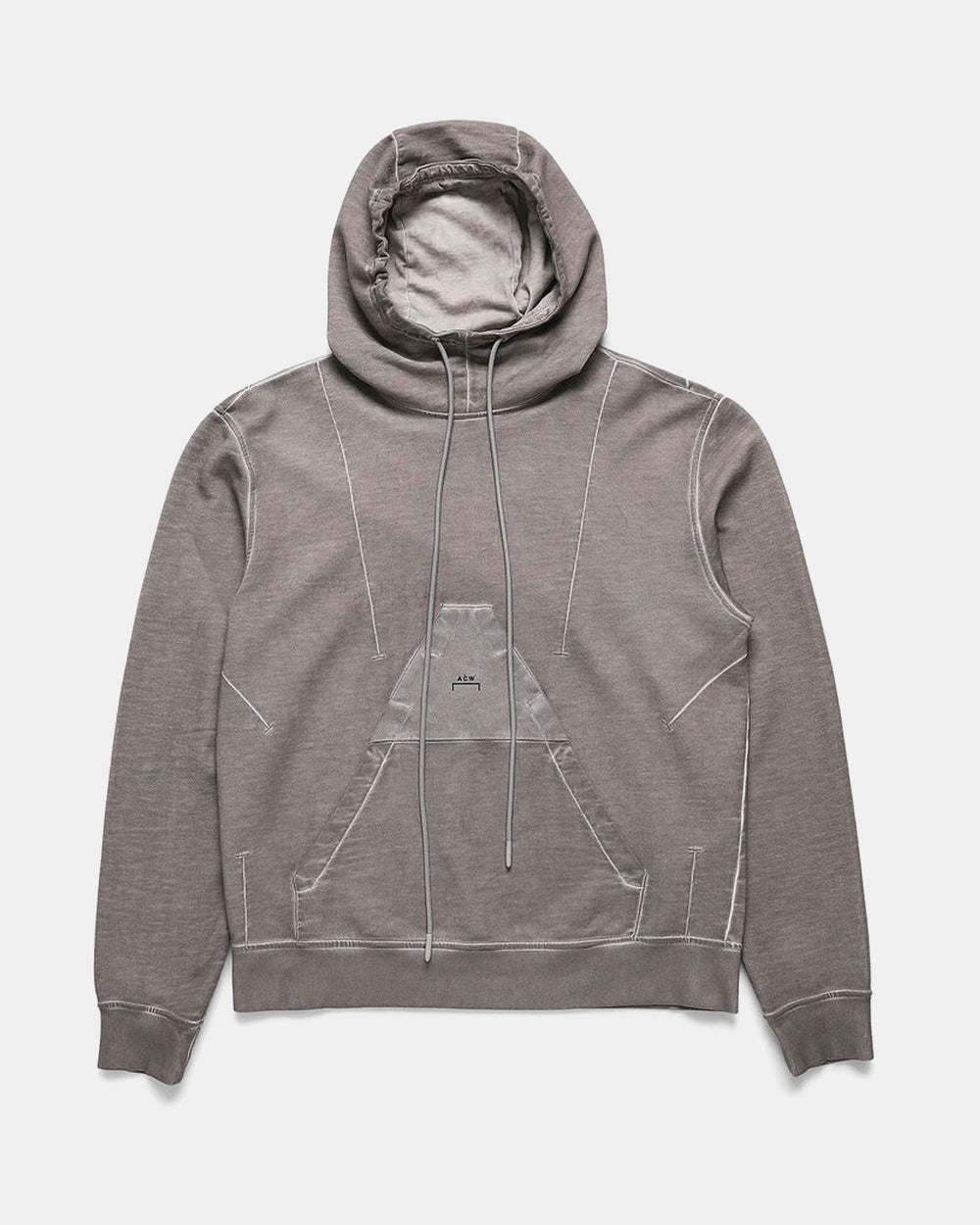 ACW x Diesel - Overdyed Hoodie (Light Grey)
