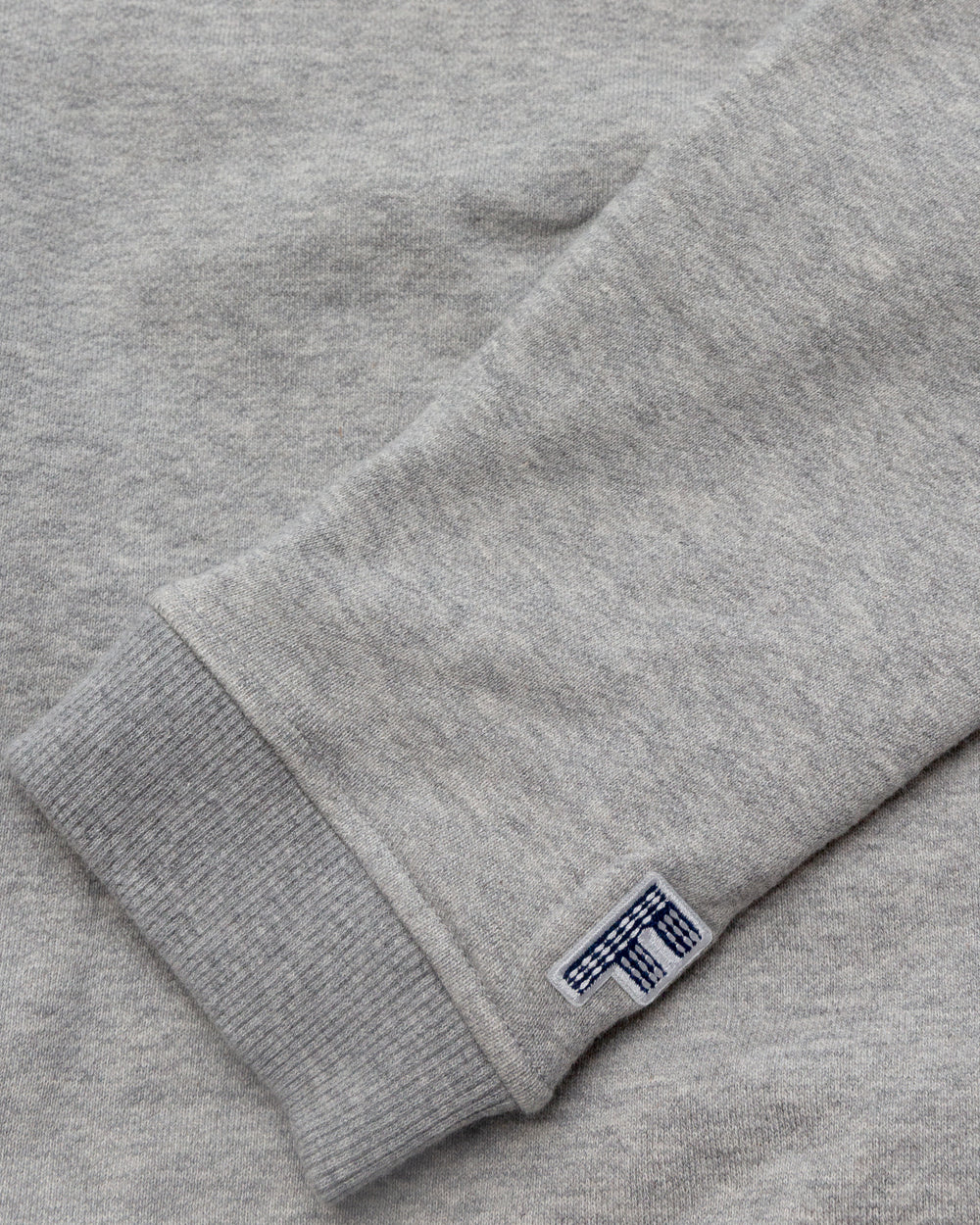 FDMTL - Sashiko Logo Sweat Shirt (Grey)