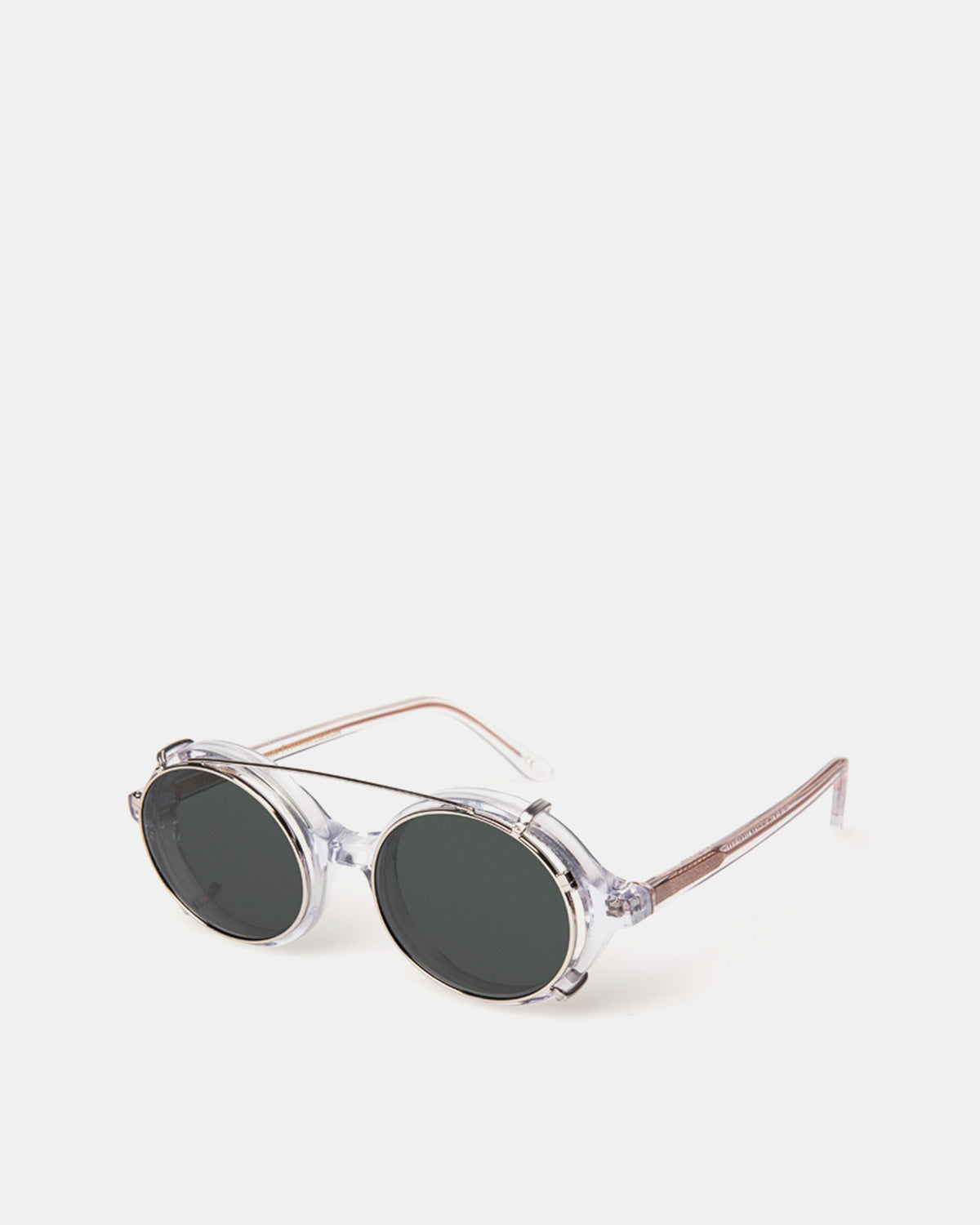 Han Kjobenhavn - Doc Clip On Sunglasses (Clear)