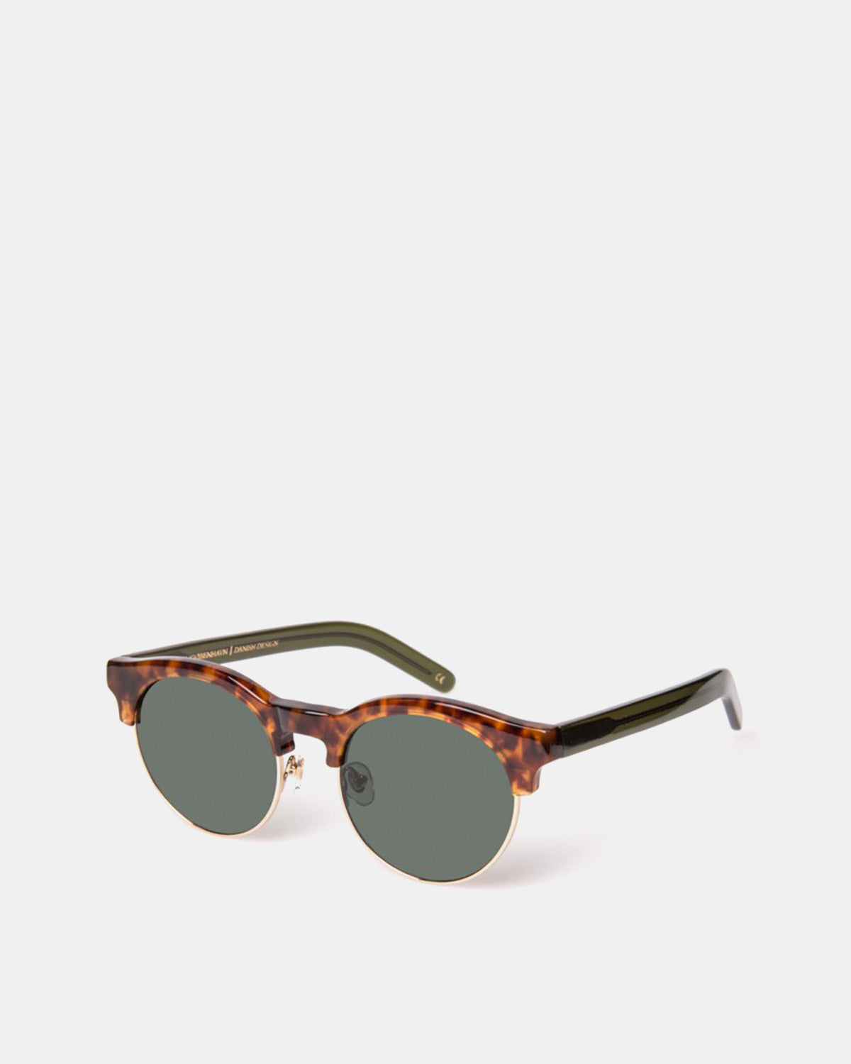 Han Kjobenhavn - Smith Sunglasses (Amber Green | Transparent)