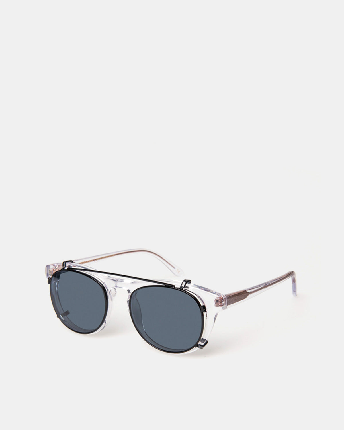 Han Kjobenhavn - Timeless Clip on Sunglasses (Blue Lenses)