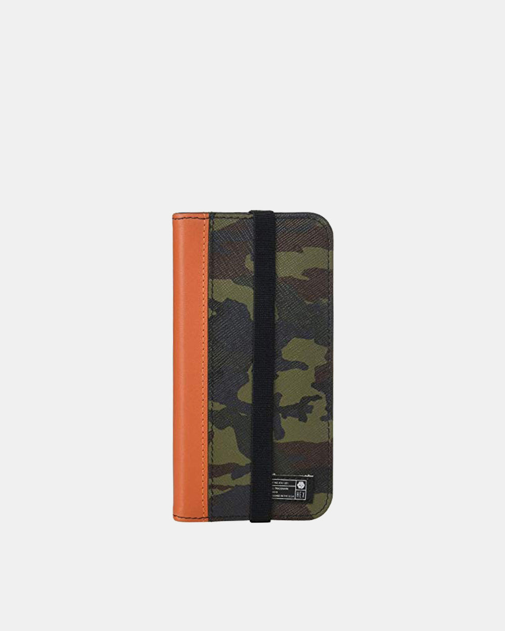 HEX - iPhone XS Max Camo Leather Icon Wallet (Camo)