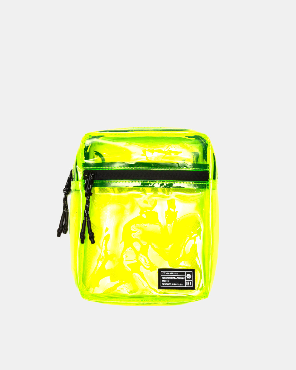 HEX - Crossbody Pouch (Neon Yellow)