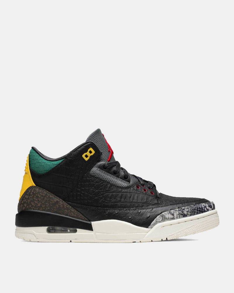 Air Jordan 3 Retro SE (Black | White | Gorge Green)