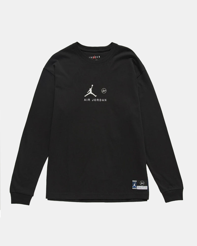 Jordan x Fragment Long Sleeve Tee (Black)