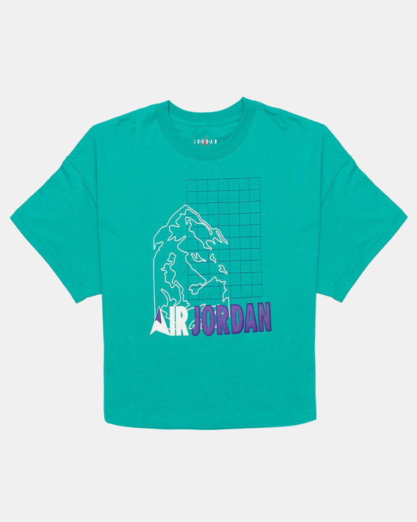 Women's Winter Utility Tee (Neptune Green)