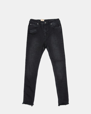 Ksubi - Women's Hi and Wasted Jeans (Black)