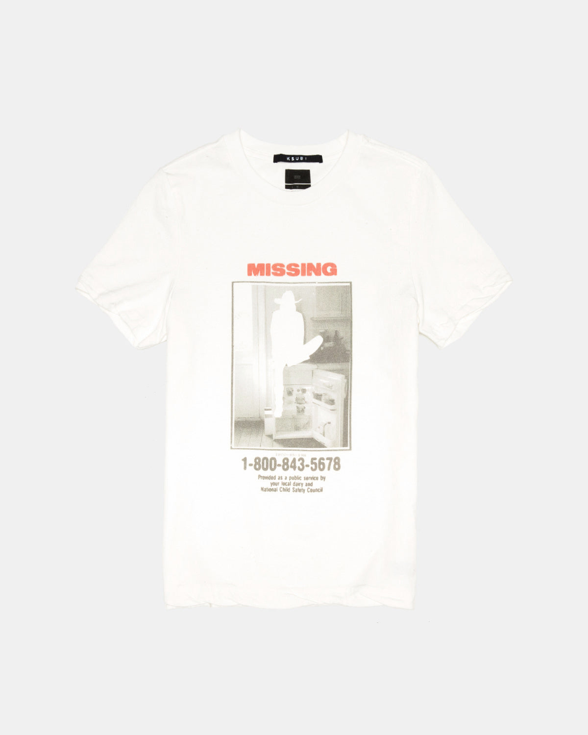Ksubi - Women's Missing Tee (Worn In White)