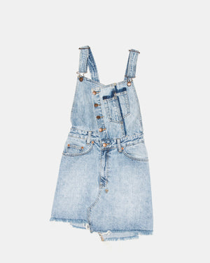 Ksubi - Women's Hi Pini Dress Cut + Sliced (Light Denim)