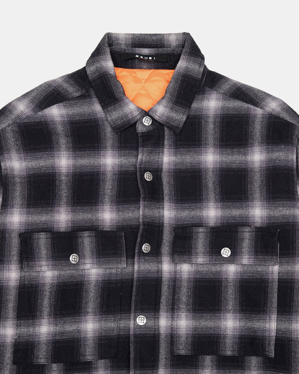 Ksubi - Strata Quilted Long Sleeve Shirt (Check)
