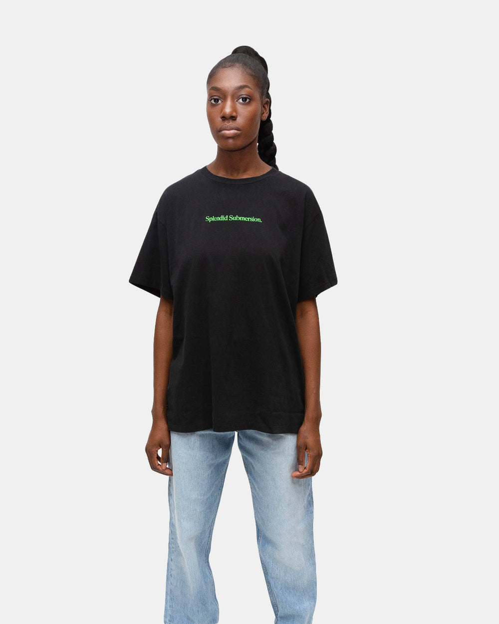 Ksubi - Women's Splendid Submersion Tee (Black)