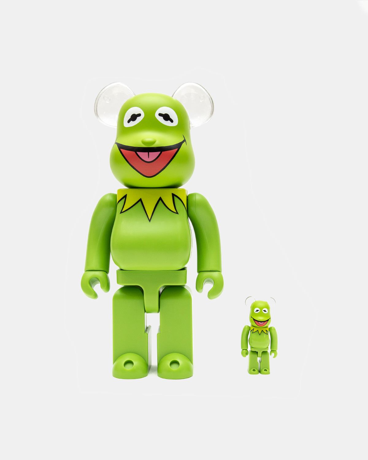 Medicom Toy - Meet the Muppets Kermit the Frog 100%/400% Be@rbrick Set (Green)