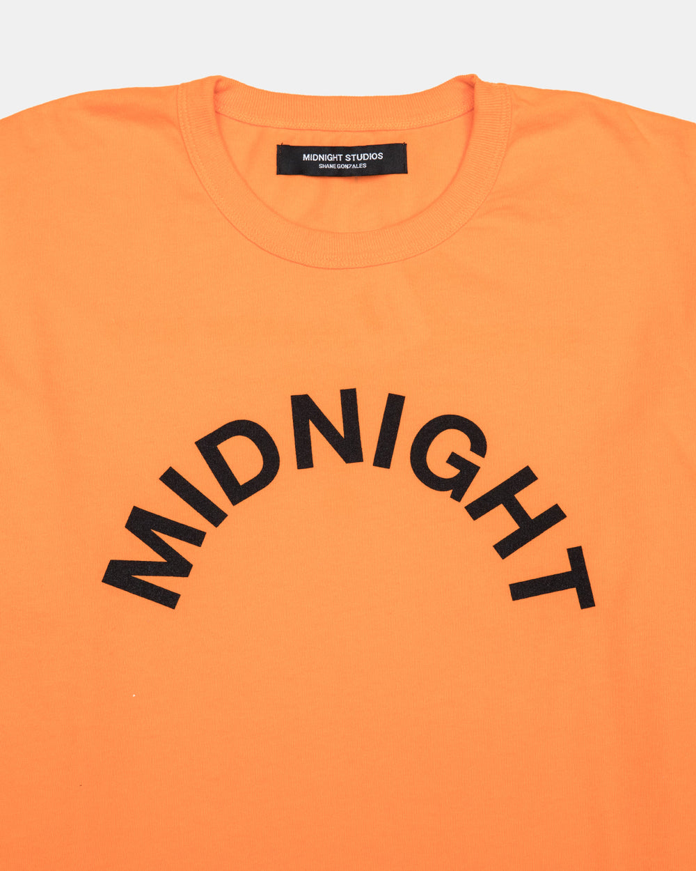 Midnight Studios - Logo Tee (Electric Orange)