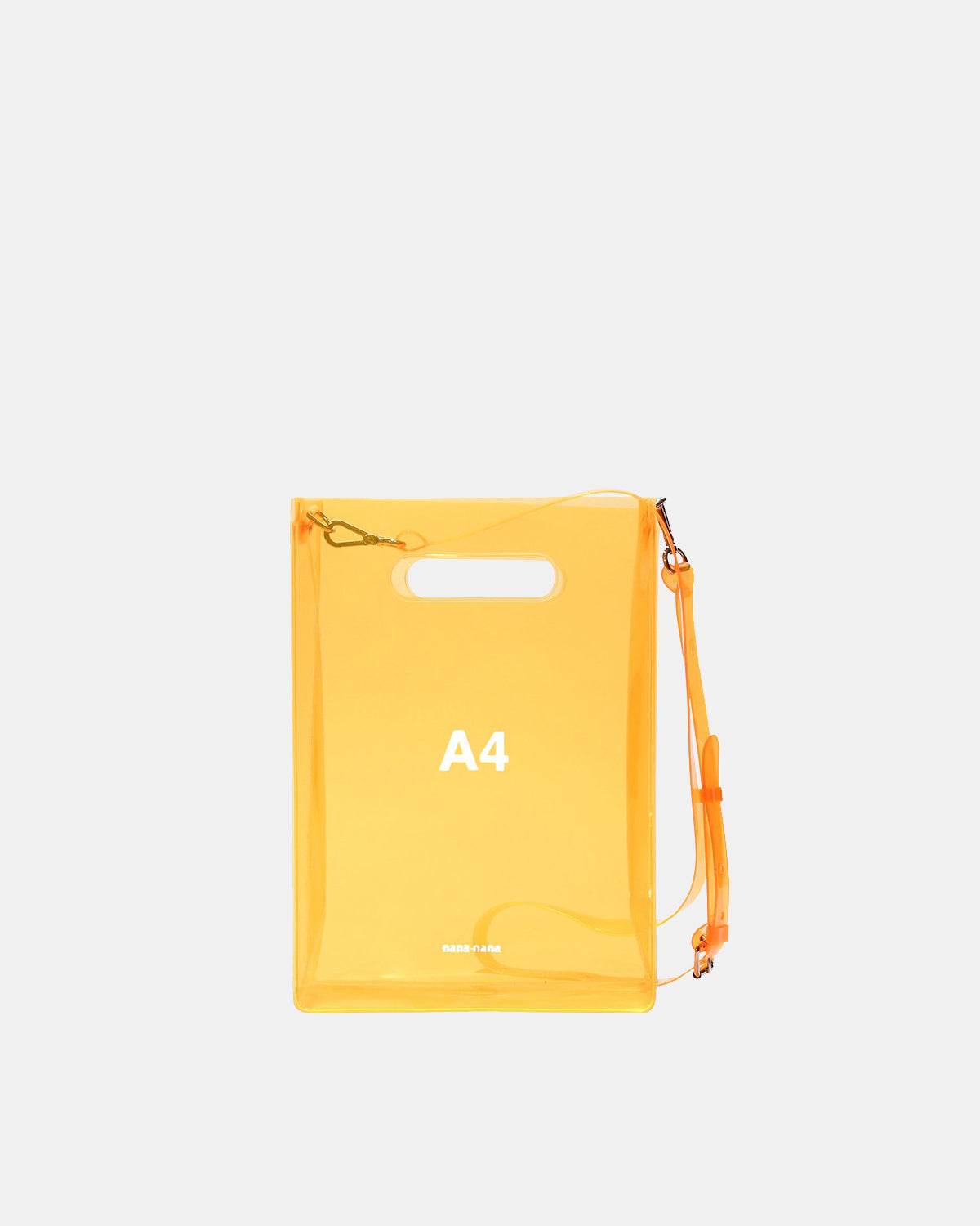 nana-nana - A4 PVC Bag (Neon Orange)