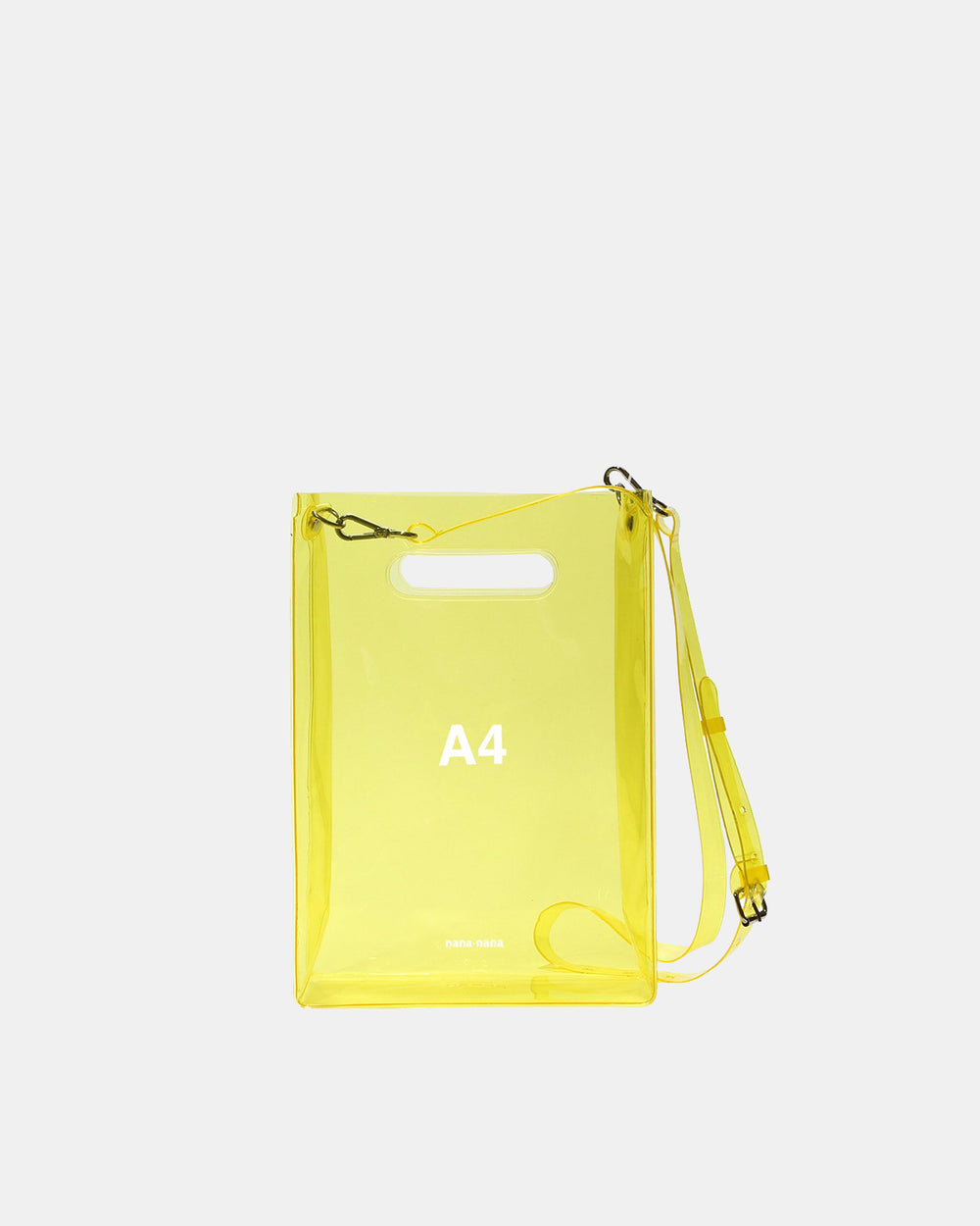 nana-nana - A4 PVC Bag (Yellow)