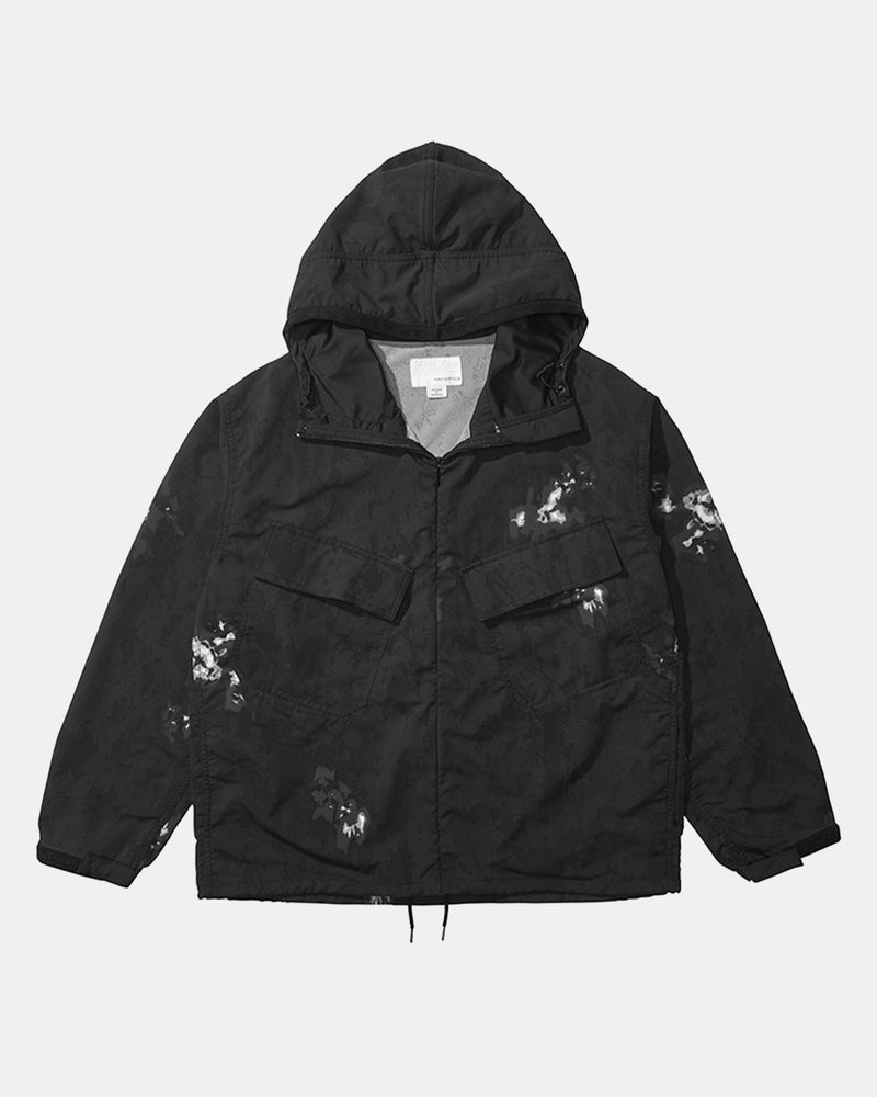Alphadry Hooded Parka (Speckled Dye | Black)