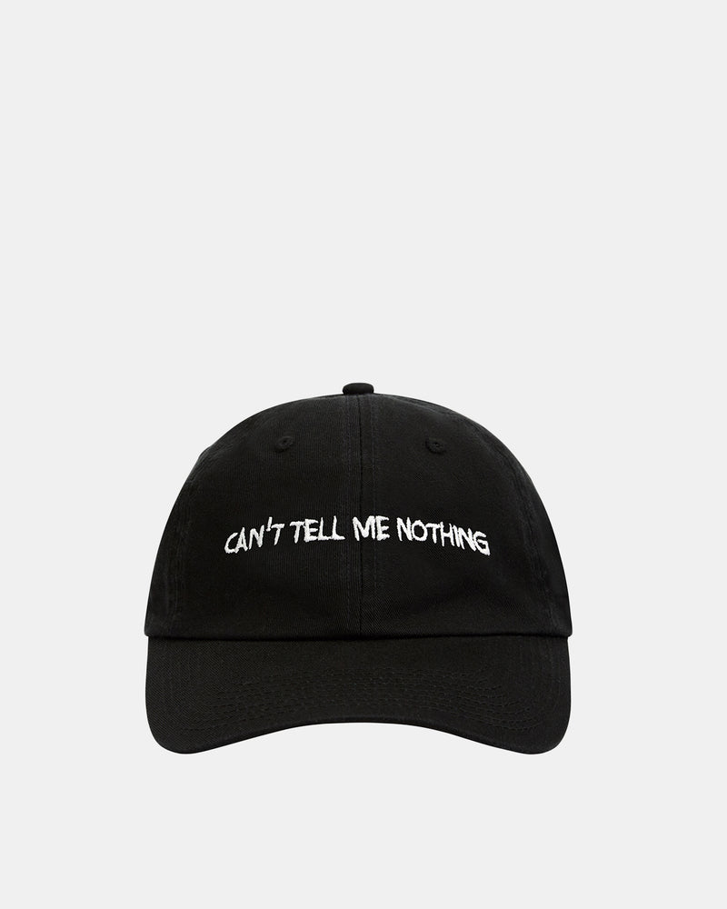 Can't Tell Me Nothing Hat (Black | White)