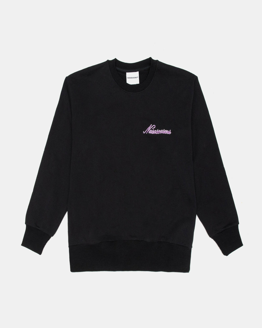 Nasaseasons - Who Shot Ya Crewneck (Black | Green)