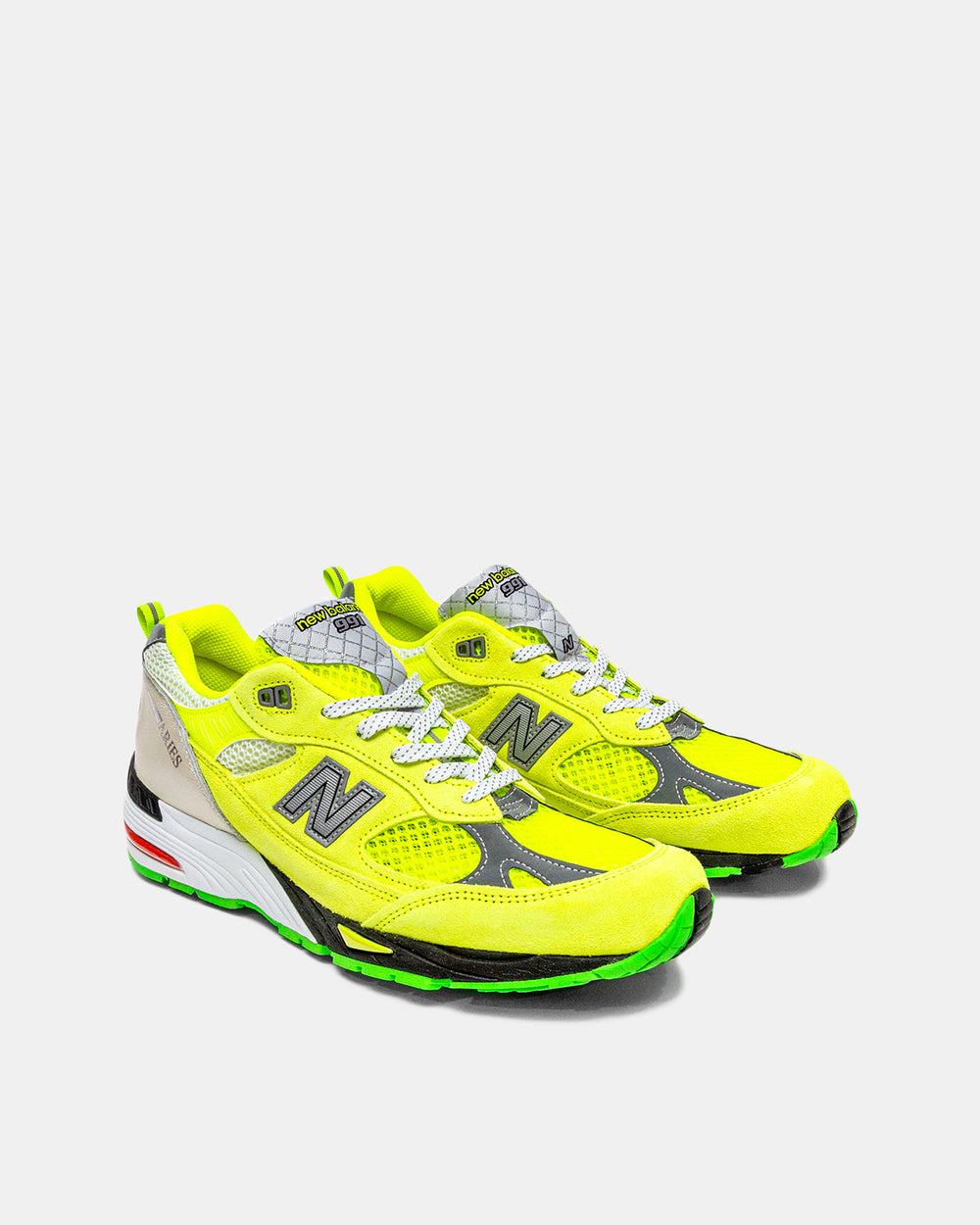 New Balance - New Balance x Aries 991 (Neon Yellow | Silver)