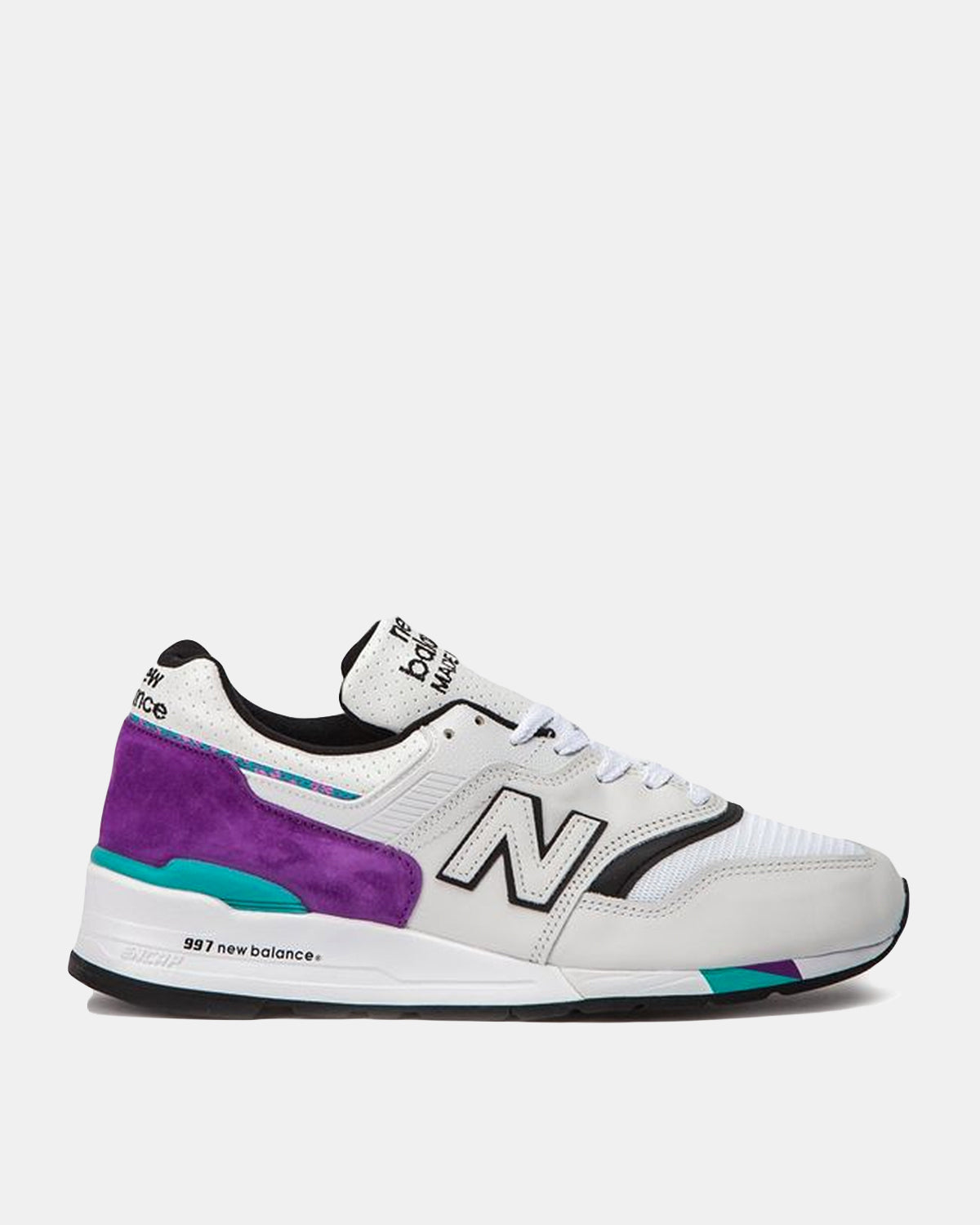New Balance - 997 Made in US (Light Grey | Marl | Purple)