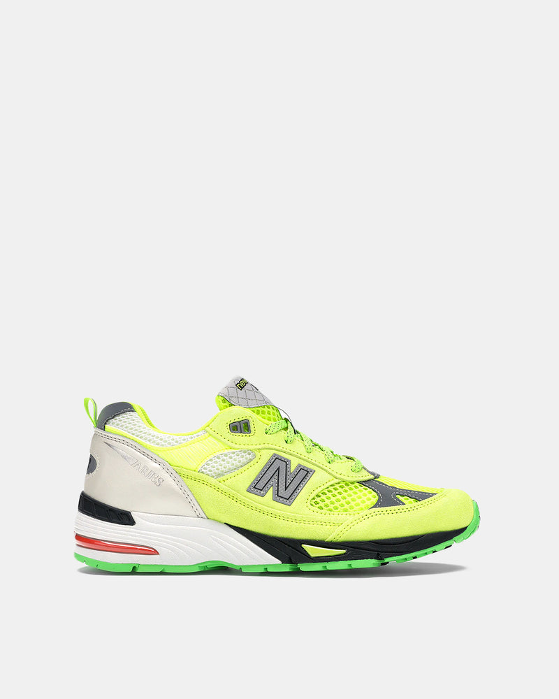 New Balance x Aries Women's W991 (Green | Grey)