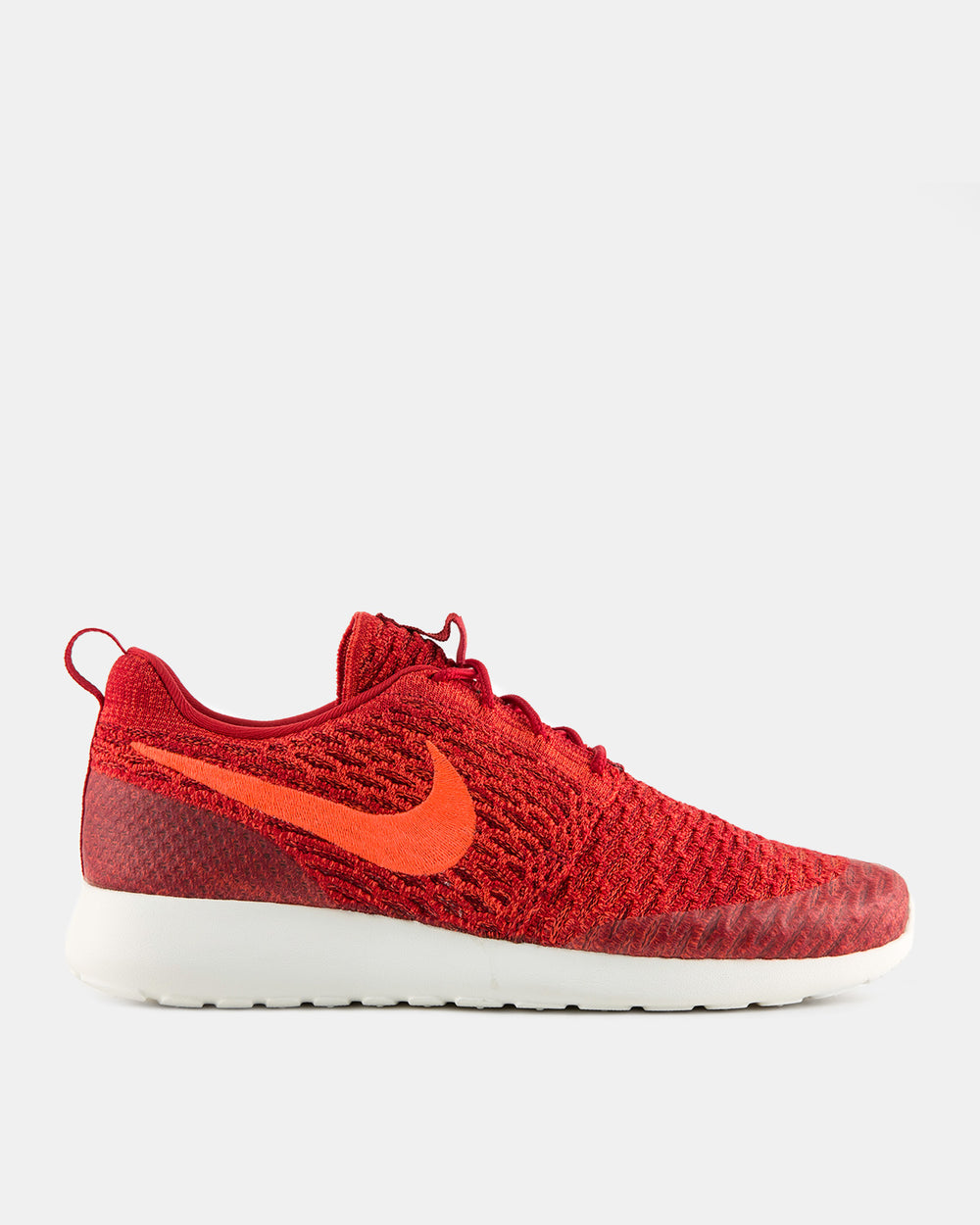 Nike - Women's Roshe One Flyknit (Gym Red | Team Red | Sail)