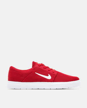 Nike SB - Portmore Ultralight Canvas (University Red | White | Gym Red)