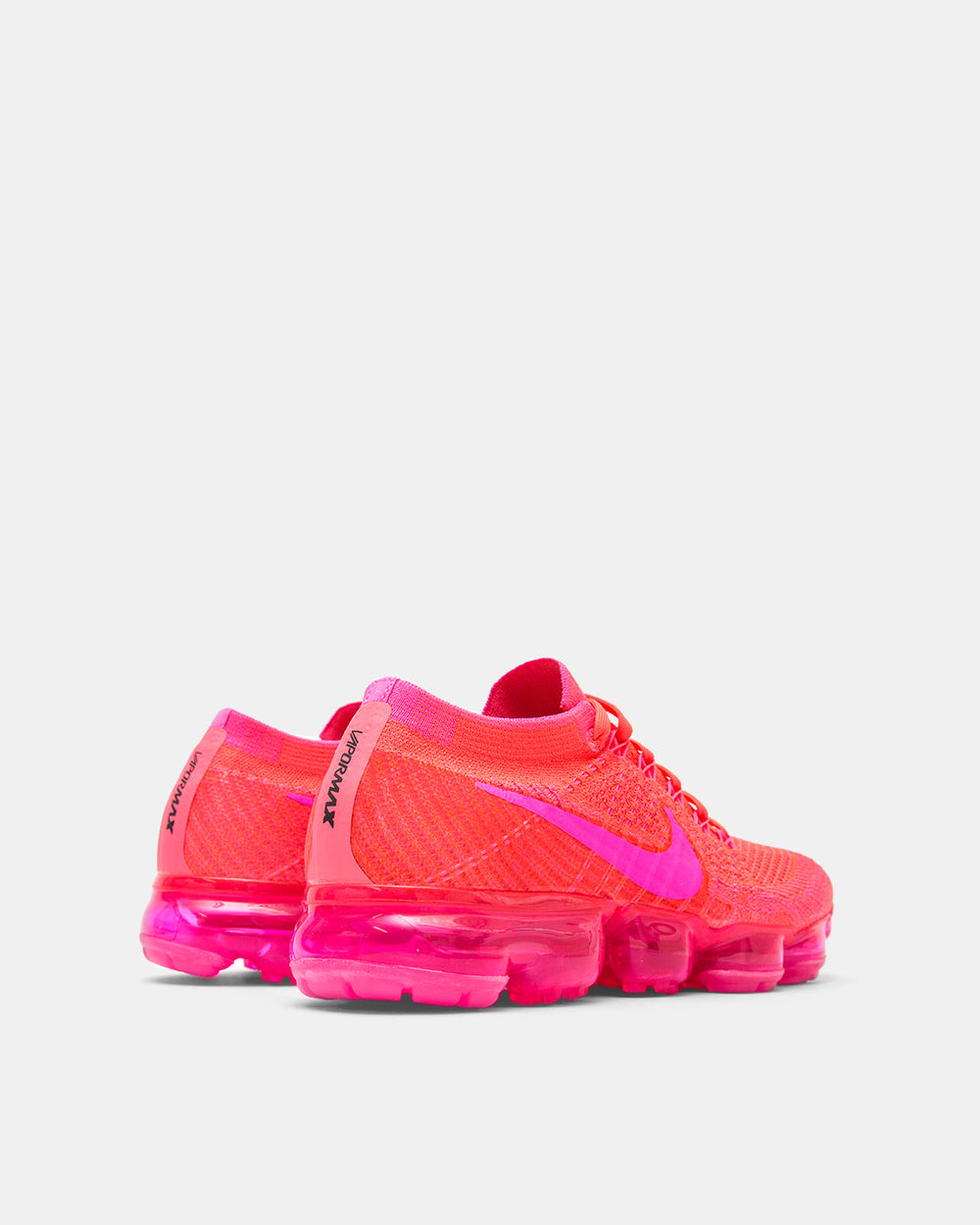 Nike - Women's Air VaporMax Flyknit (Hyper Punch | Hot Punch | Black | Pink Blast)