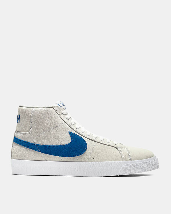 SB Zoom Blazer Mid (White | Royal)