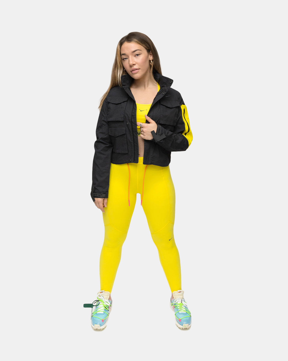 Nike - Women's Nike x Off White Running Jacket (Black)