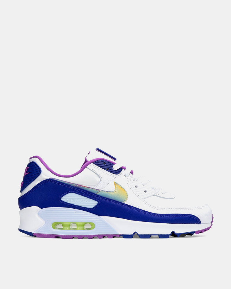 Nike - Air Max 90 SE (White | Washed Coral | Hyper Blue)